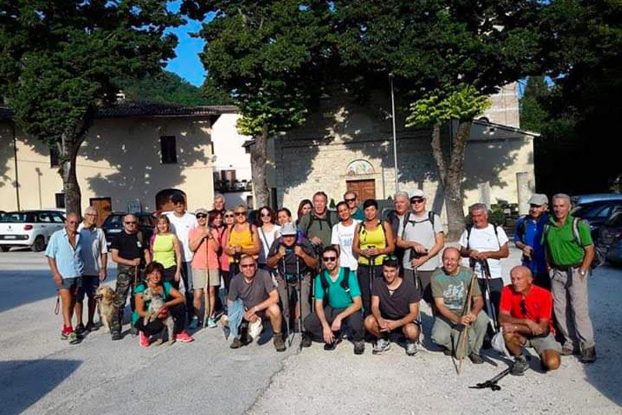 Una Base Escursionistica a Capodacqua